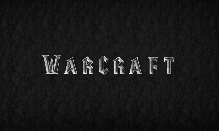 warcraft Font poster