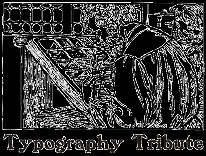 TypographyTribute Font poster