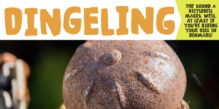 Dingeling Font poster