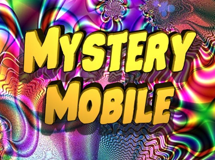 Mystery Mobile Font poster