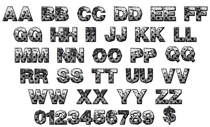 Pixel Hour Font poster
