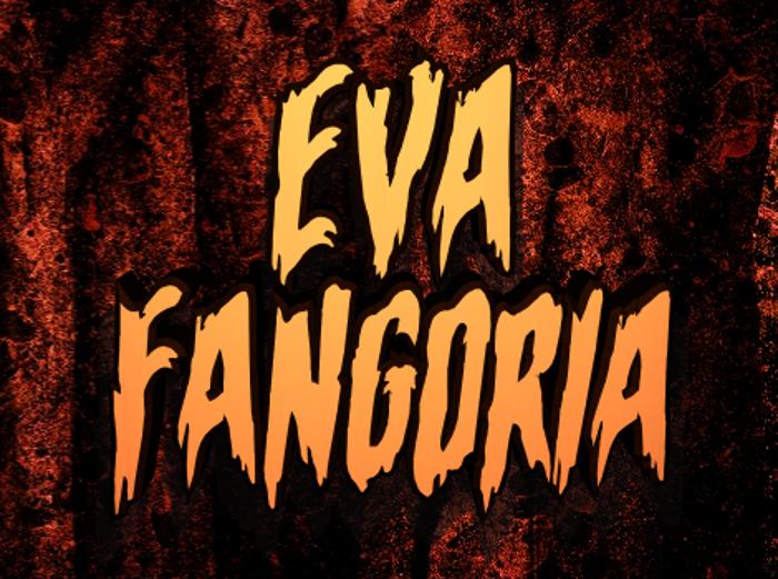 Eva Fangoria Font poster