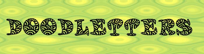 Doodletters Font poster