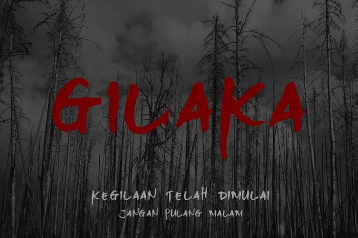 Gilaka Font poster
