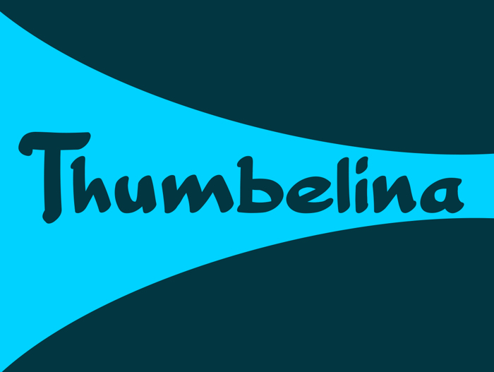 Thumbelina Font poster