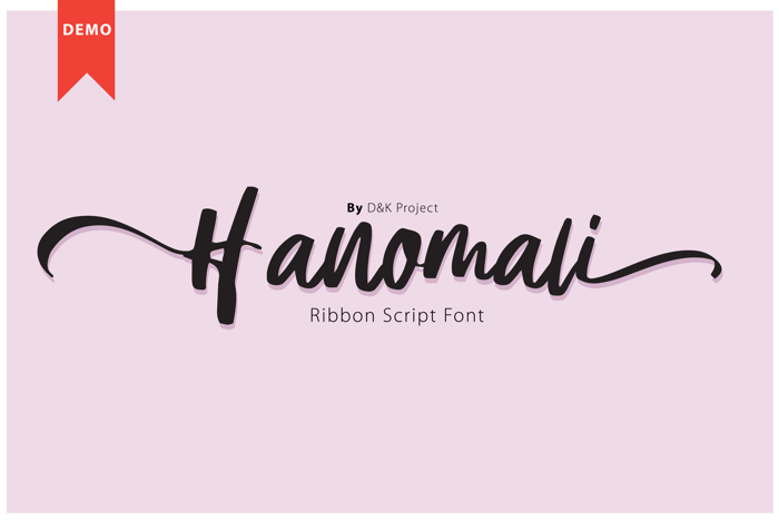 Hanomali Font poster