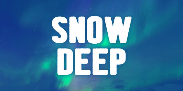 Snow Deep Font
