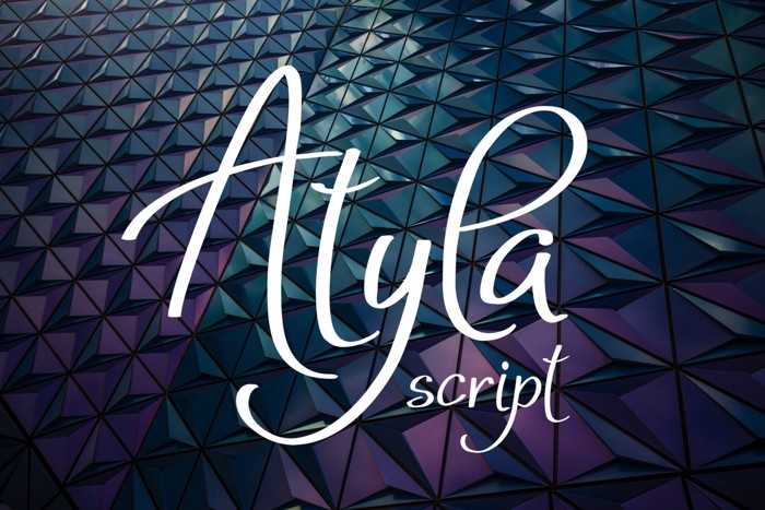 Atyla Font poster