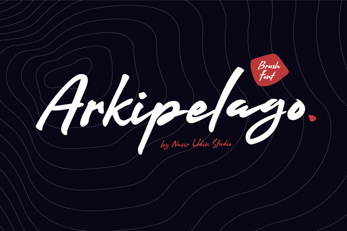 Arkipelago Font poster