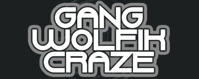 Gang Wolfik Craze Font poster