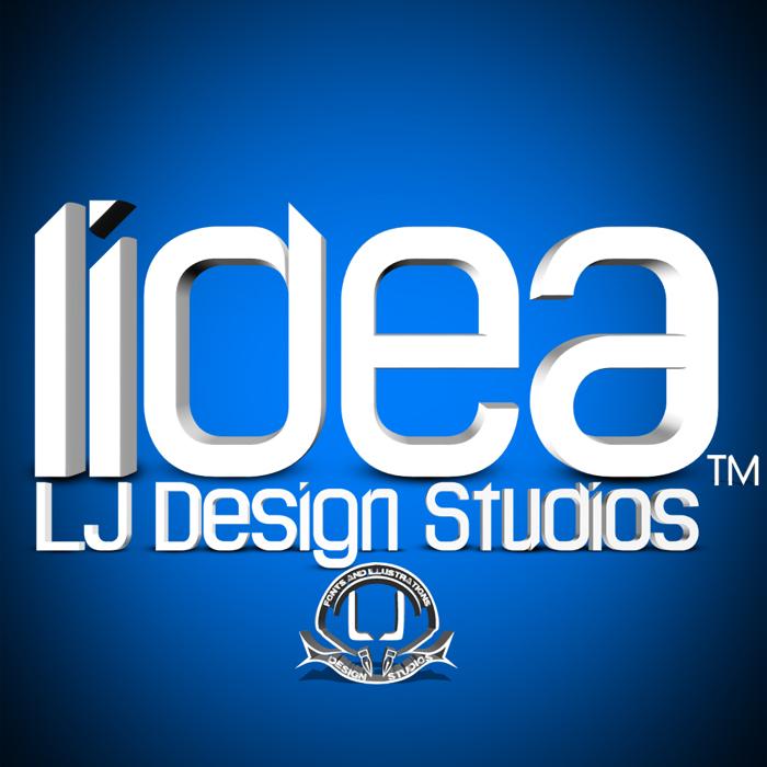 LJ Design Studios Lidea Font poster