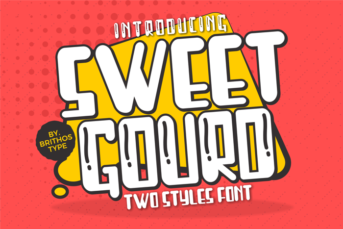 Sweet Gourd Font poster