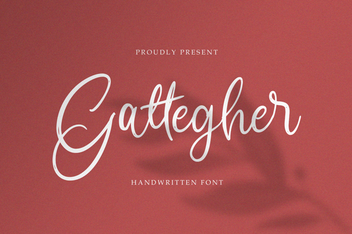Gattegher Font