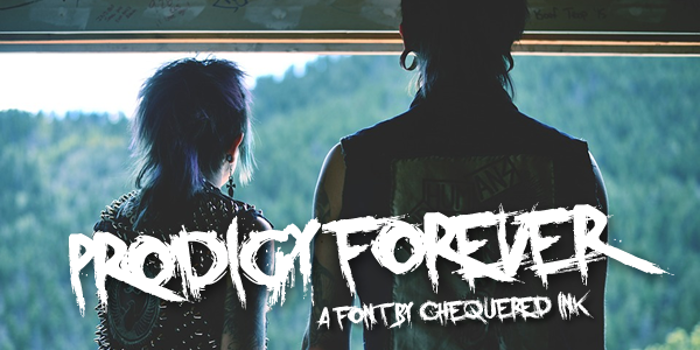 Prodigy Forever Font poster