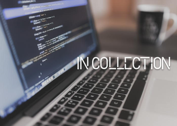 In Collection Font poster