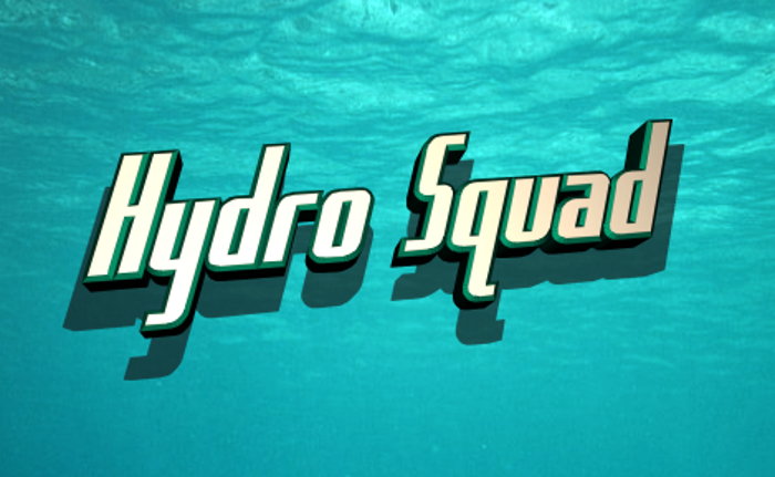 Hydro Squad Font poster