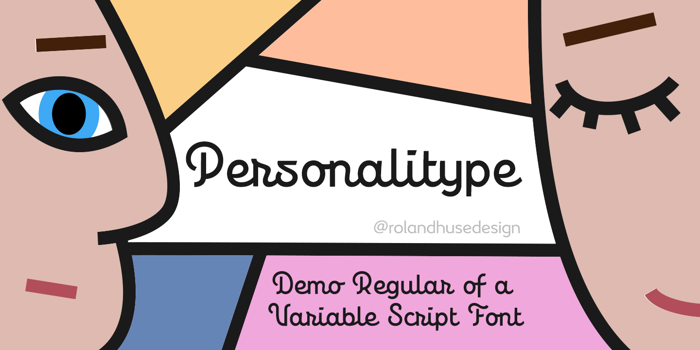 Personalitype Font poster