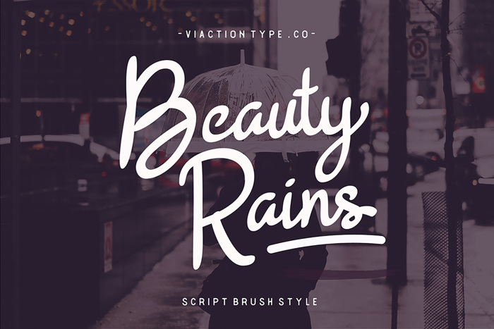 Beauty Rains Font