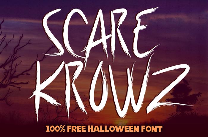 Scarekrowz Font