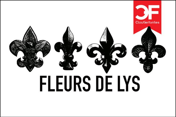 Fleur de Lys Regular Font poster