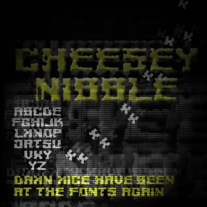 Cheesey Font poster