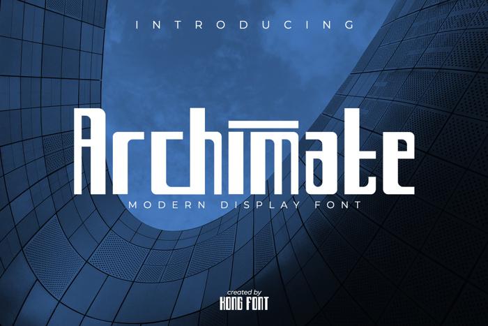 Archimate Font