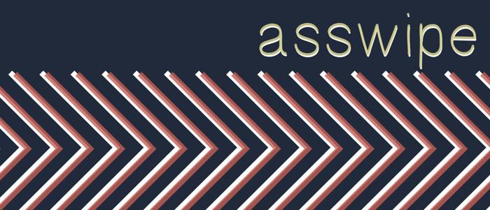 Asswipe Font poster