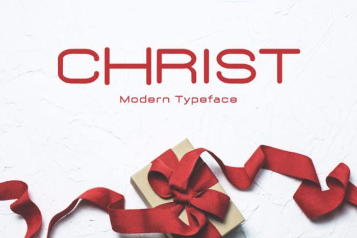 Christ Font poster