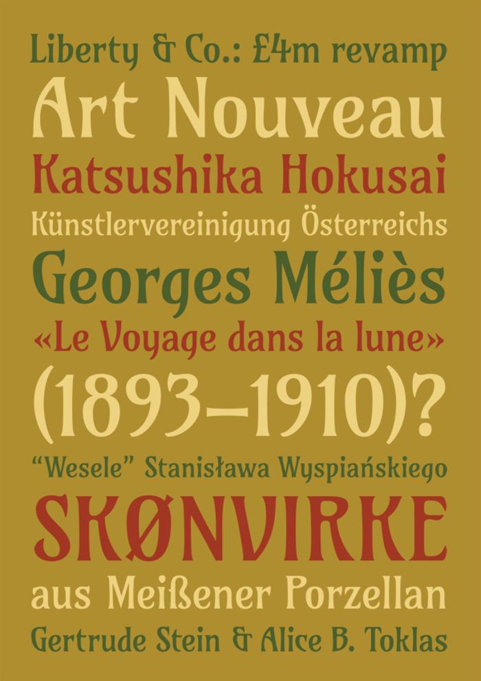 Amarante Font poster