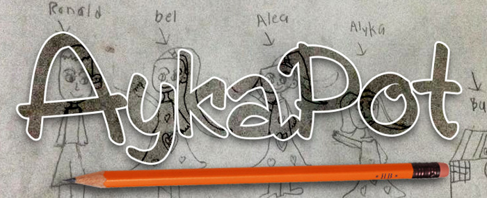 AykaPoT Font poster