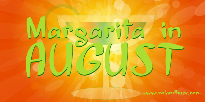Margarita in August Font poster