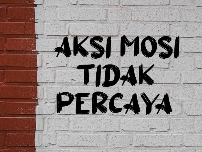 a Aksi Mosi Font poster