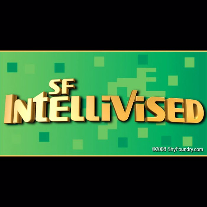 SF Intellivised Font poster