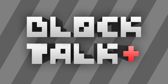 Block Talk Font poster