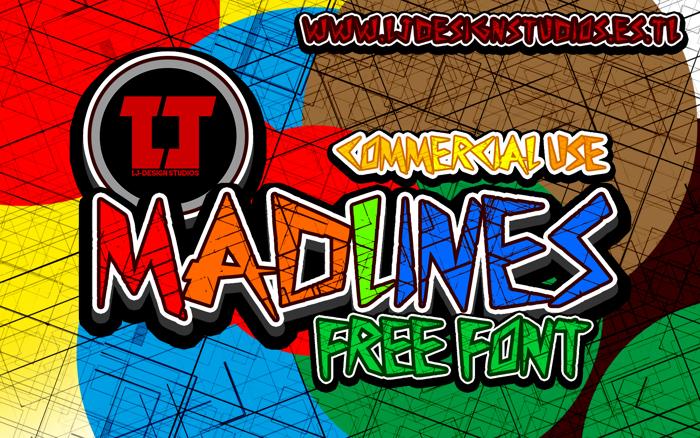 MadLines Font poster