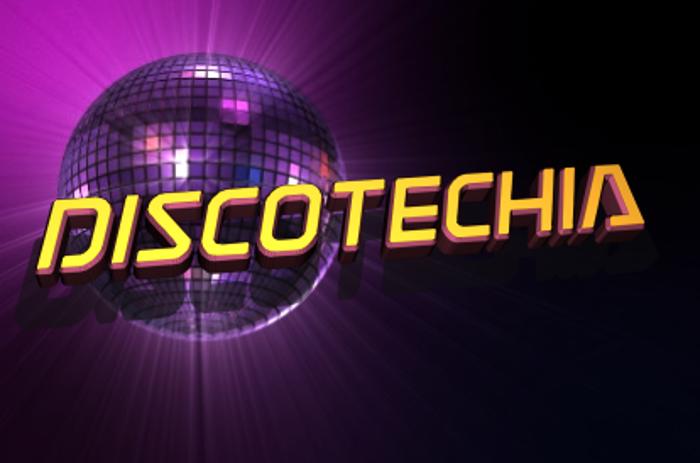 Discotechia Font poster