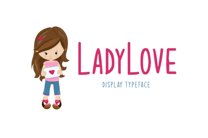 Ladylove Font poster
