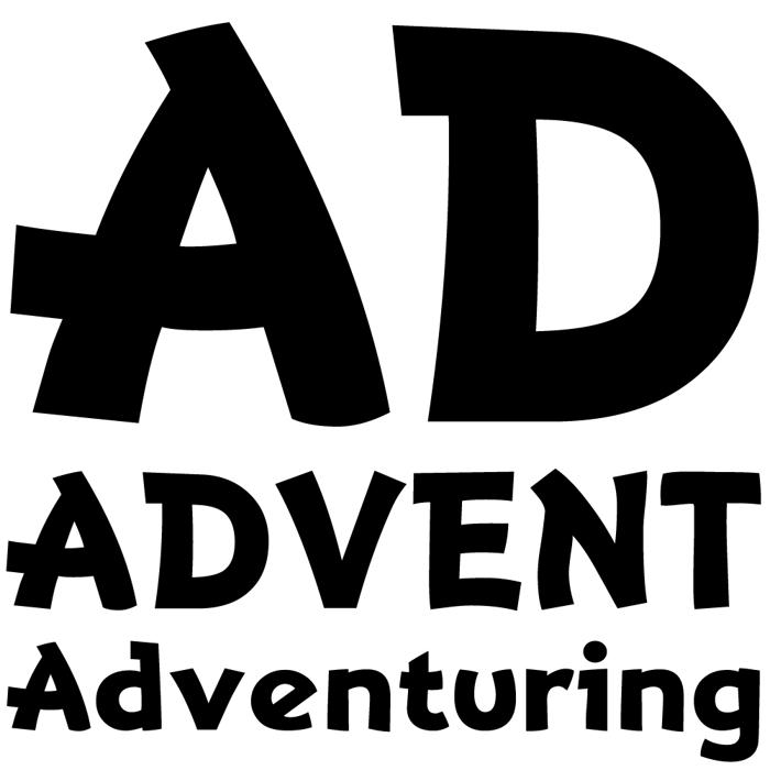 Adventuring Font poster
