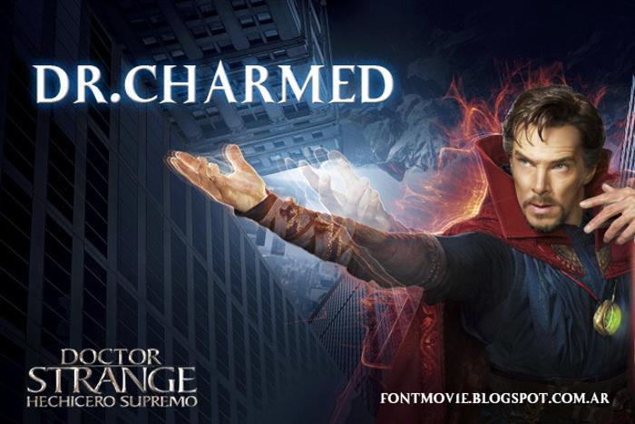 Dr. Charmed Font poster