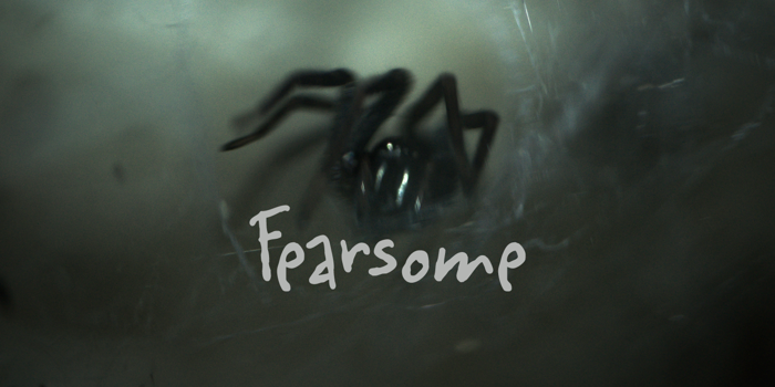 Fearsome DEMO Font poster