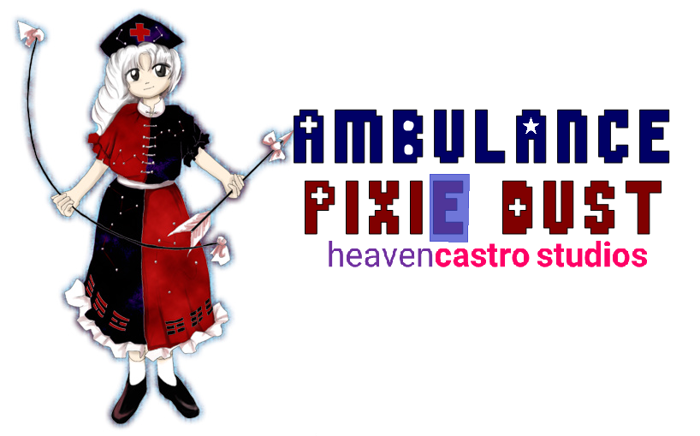 Ambulance Pixie Dust Font poster