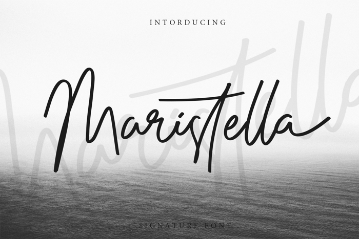Maristella Font poster