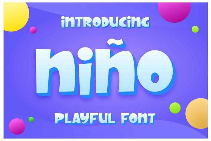 Nino Font poster