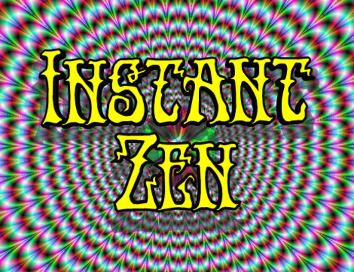 Instant Zen Font poster