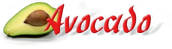 Avocado Font poster