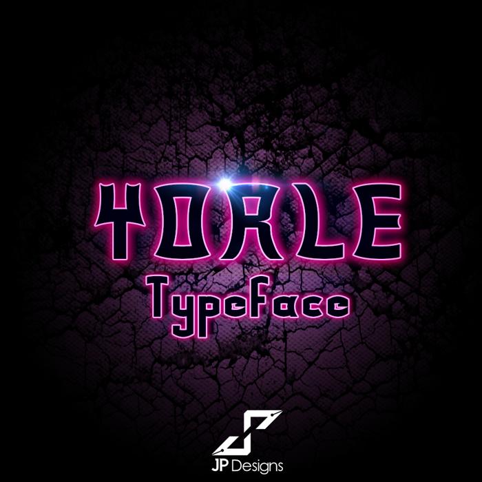 Yorle Font poster