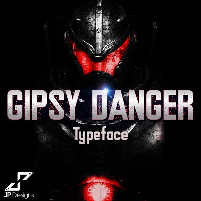 Gipsy Danger Font poster