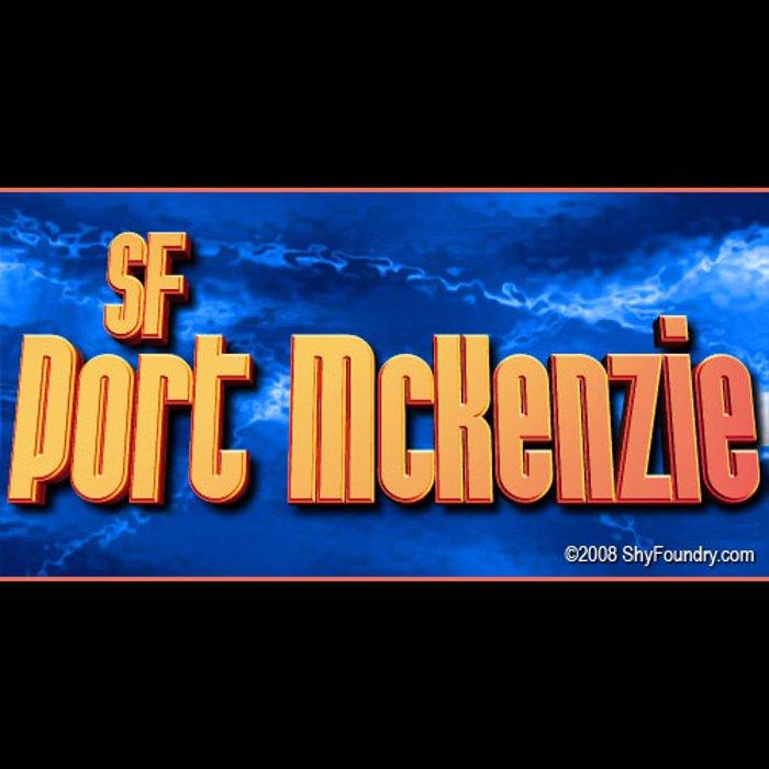 SF Port McKenzie Font poster