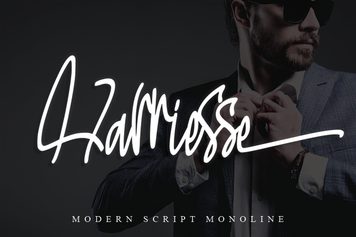 Harriesse Font poster