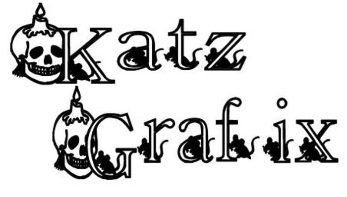KG SKELETON Font poster